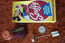MICKEY MOUSE Ox Blood unused in box SCUFFY shoe polish