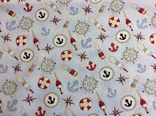 """Henry Glass - """"Sail Away"""" By Debbie Taylor-Kerman - 100% Cotton"""