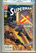 1)CGC 9.8-SUPERMAN #168(5/01)(BATMAN/LOIS LANE/JUSTICE LEAGUE)(ONLY 6@9.8)RARE!!