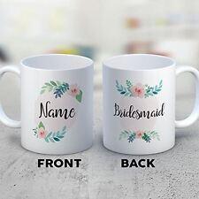Bridesmaid Coffee Mug - Bridesmaid - Funny 11 oz White Ceramic Tea Cup - Humorou
