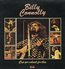 BILLY CONNOLLY Cop Yer Whack For This  UK vinyl LP  PICKWICK EXCELLENT CONDITION