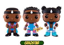 Big E, Xavier Woods & Kofi Kingston-WWE WRESTLING Funko POP! Vinyl 3-Pack