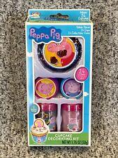 NEW Treat Street PEPPA PIG Cupcake Decorating Kit Makes 24 Cupcakes SEALED