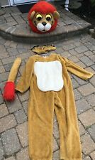 Vintage High Quality Lion Costume Mascot Outfit Suit Halloween