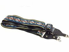 Classic hippie camera neck strap, good used condition