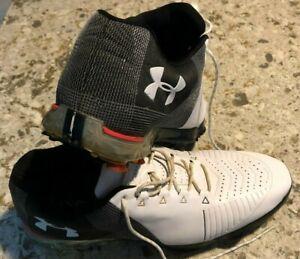 Men's Under Armour Spieth 2 Golf Shoes Size 10.5 E 3020801-100