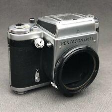 PENTACON SIX TL 6X6 CLA perfect working medium format camera body. TESTED