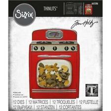 Sizzix • Thinlits die set Retro oven