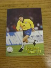 19/06/1994 World Cup: USA 94 - Brazil, small leaflet/brochure with fixtures and