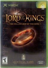 Lord of the Rings XBOX Video Game with Instructions Used 2002
