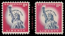 1044A 1044Ac Statue of Liberty 11c Issue Untagged Tagged Set of 2 MNH - Buy Now