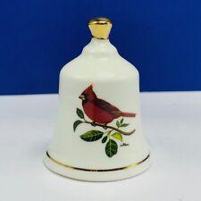 Danbury Mint state bird Bell porcelain collection North Carolina Cardinal Nc vtg