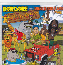 Borgore-Wild Out Promo cd maxi single 3 tracks