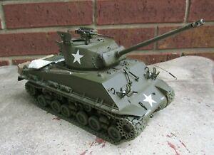 Franklin Mint Precision WWII Sherman M4A3E8 Die Cast Model 1:24 1/24 Scale ASIS