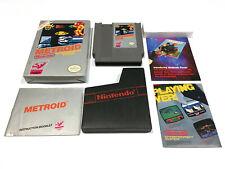 Metroid (Nintendo, NES, 1987) Video Game, Manual, Complete in Box CIB