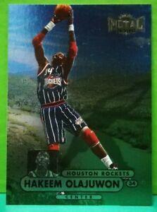 Hakeem Olajuwon regular card 1997-98 Fleer Metal Universe Championship #61