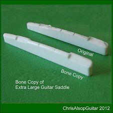 Silla de montar de la guitarra de hueso de gran tamaño copia o de dimensiones hecha por Chris Alsop PS032