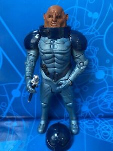 DOCTOR WHO FIGURE SONTARAN GENERAL STAAL with SWAGGER STICK 10th DR ERA