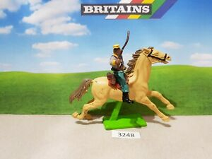 Britains ACW deetail Confederate cavalry trooper (lot 3248)