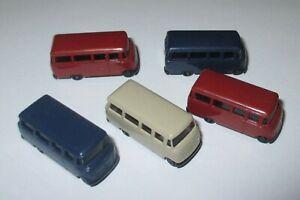 Rietze MERCEDES-Benz L 319 Bus  1:160 Spur N - 5 Stück Neu