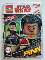 ORIGINAL LEGO STAR WARS LIMITED EDITION MINIFIGURE FINN Foil Pack Polybag 911834