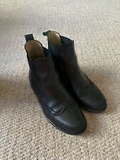 Russell & Bromley Chelsea Boots - Black - Size 36