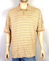 vtg 90s Gianni Sport euc Mercerized Polo Shirt Rap Hip Hop sz XL