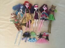 Monster High Doll Bundle + 2 Fright Mates Centaur Figures + Clothes