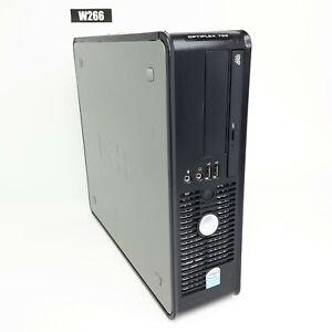 DELL OPTIPLEX 755 INTEL PENTIUM DUAL CORE E2180 @ 2.00GHz 8GB 500GB WIN10 W266