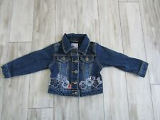 Children's Place Baby Girl's Floral Jean Jacket Size 24 Months EUC
