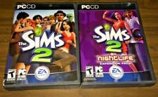 The Sims 2 (PC, CD) + Nightlife Expansion Pack
