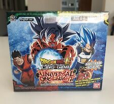 Dragonball Super TCG: Universal Onslaught Booster Box (Factory Sealed) MINT