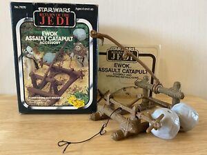Vintage Star Wars Ewok Assault Catapult Boxed.