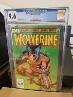 Wolverine Limited Series #4 Marvel CGC 9.6
