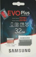 Samsung 32GB Micro SD Memory card Class 10 U1 For Canon EOS R5 Camera Full HD
