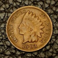 1903 Indian Head Cent ~ VERY FINE (VF) Cndtn ~ $20 ORDERS SHIP FREE!