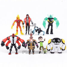 9Pcs/set High Quality Ben 10 PVC Figure Toy Action Toy Figures Gift For Children