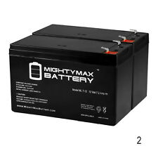 Mighty Max 12V 7Ah Battery Replacement for Acorn Stairlift - 2 Pack