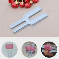 Kunststoff NEUE Einfach Pompon Maker Fluff Ball Weaver Weben T6F6 Stricken M9D2