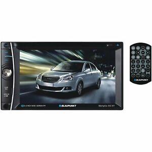 """Blaupunkt Memphis 6.2"""" Double-DIN In-Dash DVD Receiver w/ Bluetooth - MMP440BT"""