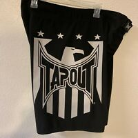 Tapout Logo Black And White Size 38 Board Shorts