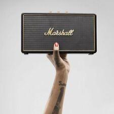 Marshall Stockwell Wireless Bluetooth Stereo Speaker System Black NEW