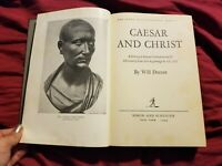 Caesar and Christ By Will Durant 1944 Hb