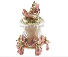 Kirks Folly Fairy Iris Candle Set New And Boxed