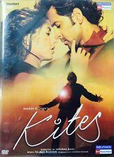 Kites - Hrithik Roshan, Barbara Mori - Hindi Movie DVD Region Free Eng Subtitles