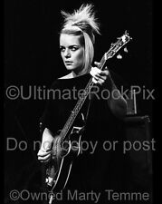 TALKING HEADS Photo Tina Weymouth 1979 Concert Photo by Marty Temme Hofner bass
