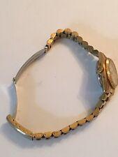 SEIKO 5 Women's Watch 4206-0690 Automatic 17 Jewels Gold Tone Works Great