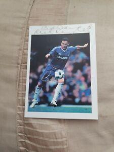 Ex Footballer Frank Lampard Hand Signed Autograph