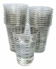 8oz Inexpensive Disposable Graduated Clear Plastic Cups with Graduated Markings