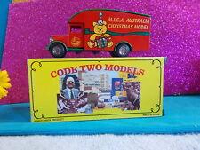 CODE TWO MODELS - A MATCHBOX PRODUCT - 1931 MORRIS VAN XMAS 02 LIMITED ED #